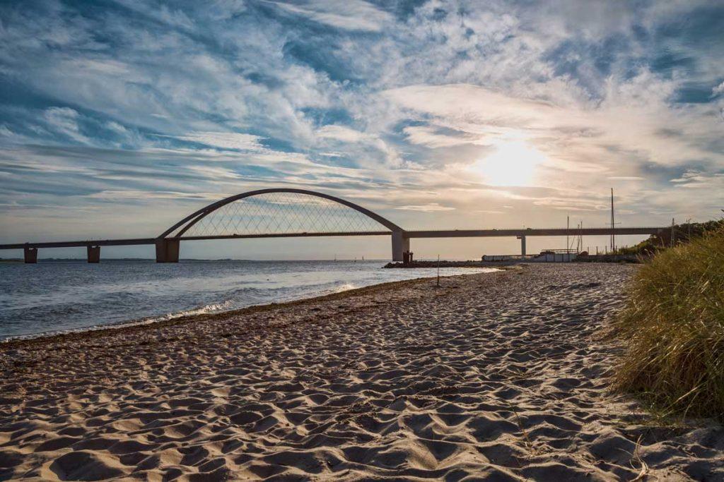 Fehmarnsundbrücke - Mönchsweg