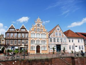 Bürgerhäuser in Stade - Mönchsweg