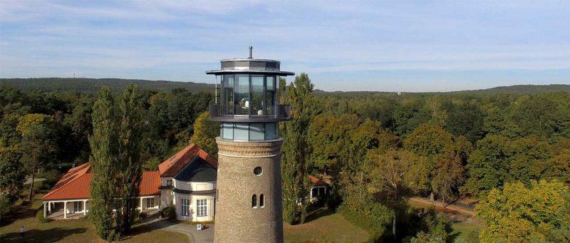 Wasserturm Bad Saarow, Außenansicht
