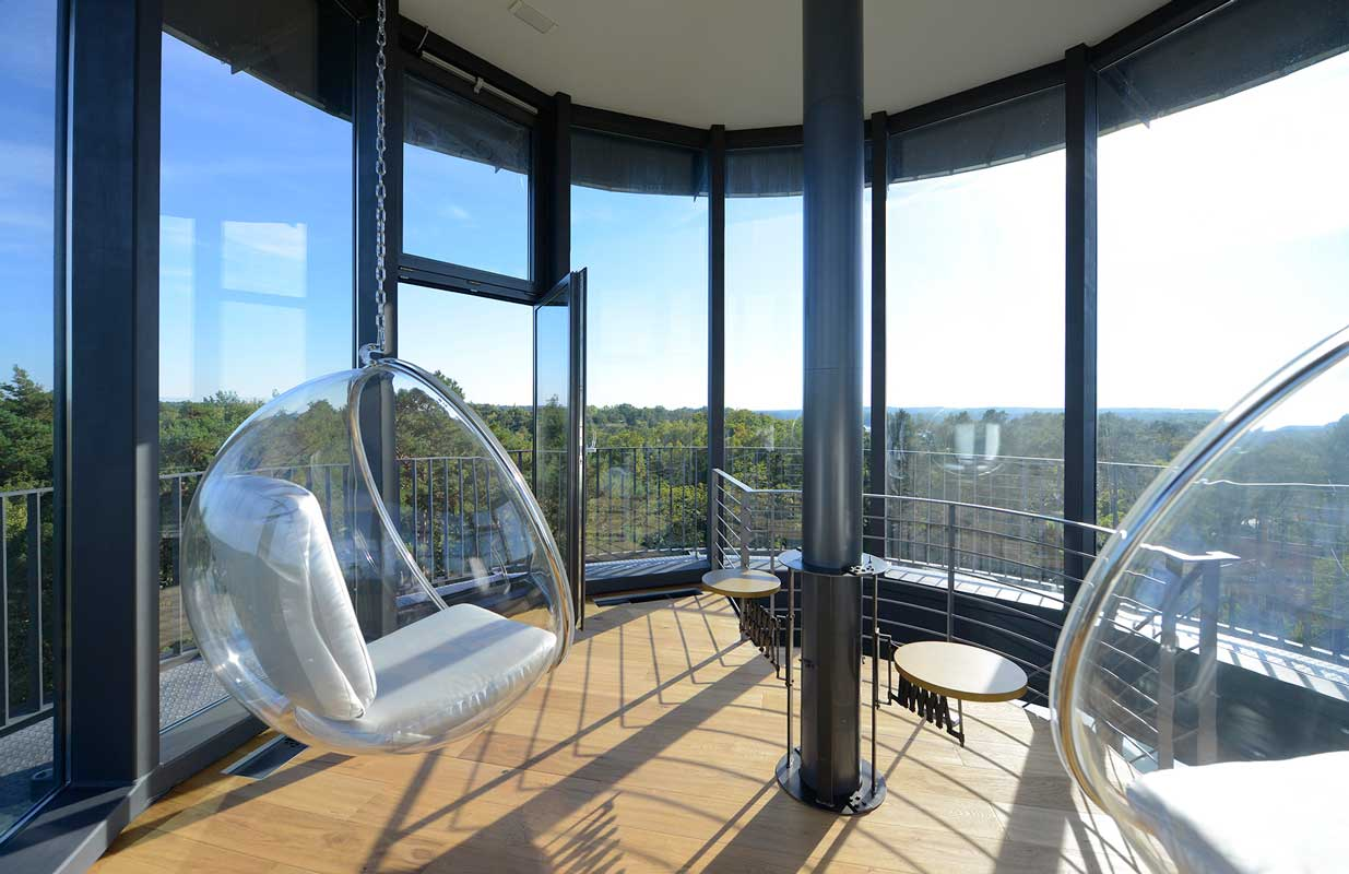 Aussichtsplattform im Wasserturm Bad Saarow