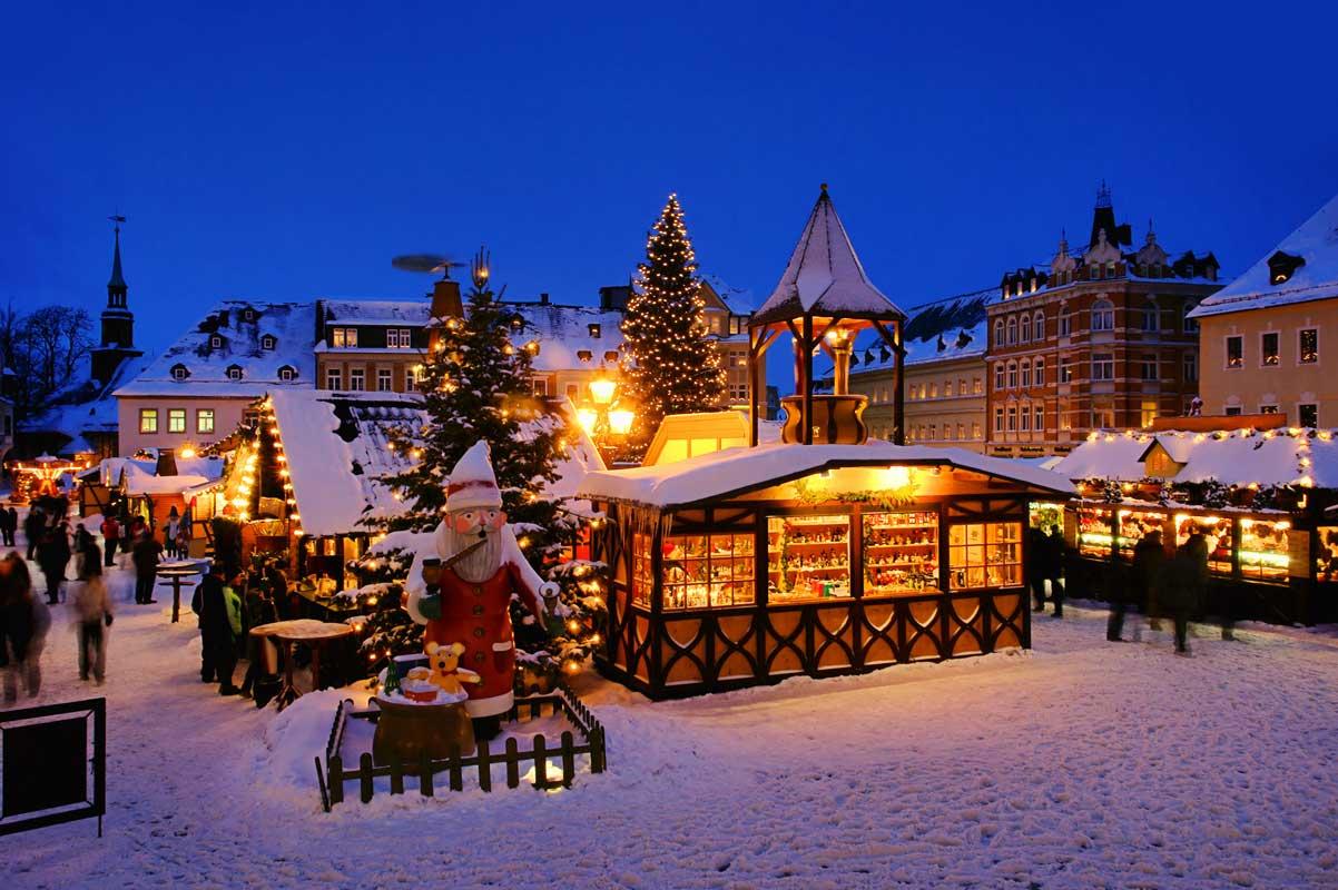 Weihnachtsmarkt Annaberg-Buchholz - schöne Weihnachtsmärkte