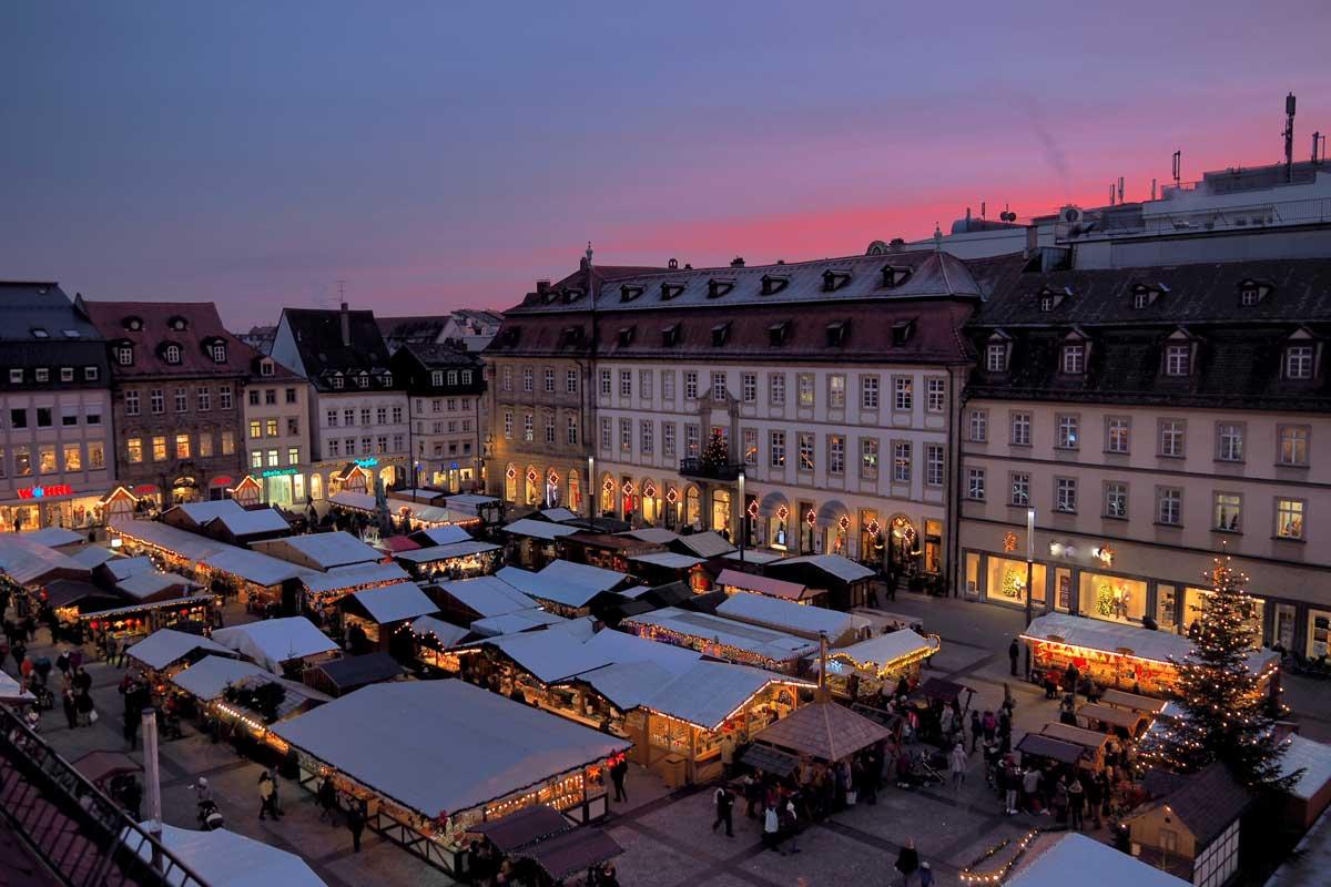 Weihnachtsmarkt Bamberg - schöne Weihnachtsmärkte