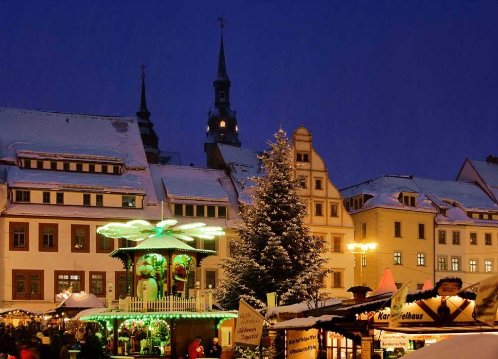 Freiberger Christmarkt - schöne Weihnachtsmärkte