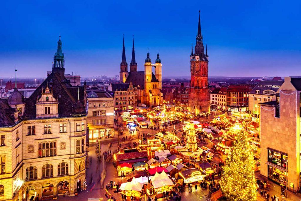 Weihnachtsmarkt Halle an der Saale - schöne Weihnachtsmärkte