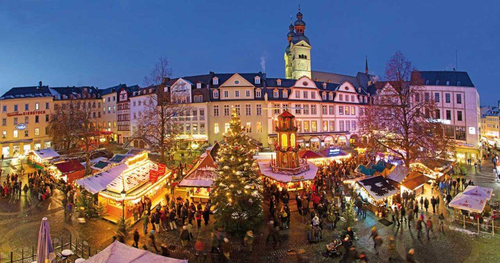 Koblenzer Weihnachtsmarkt am Plan - schöne Weihnachtsmärkte