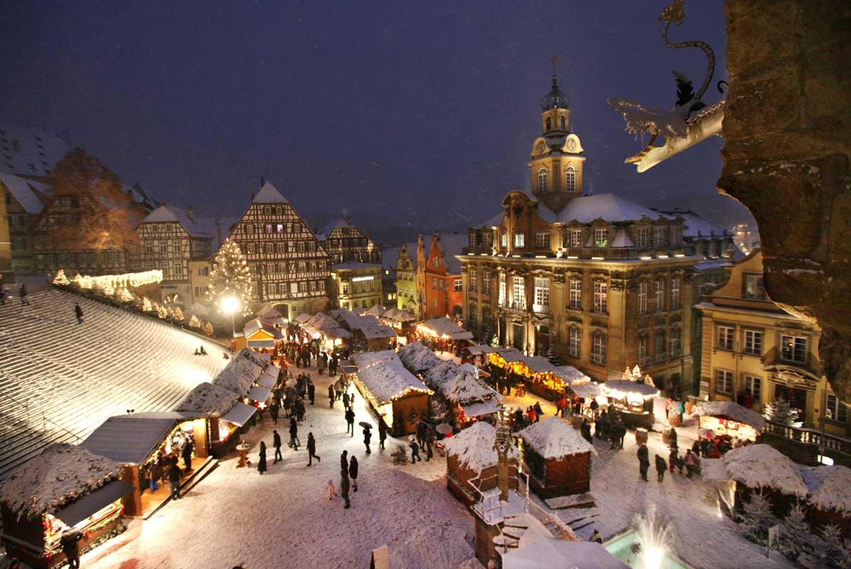 Weihnachtsmarkt Schwäbisch Hall - schöne Weihnachtsmärkte