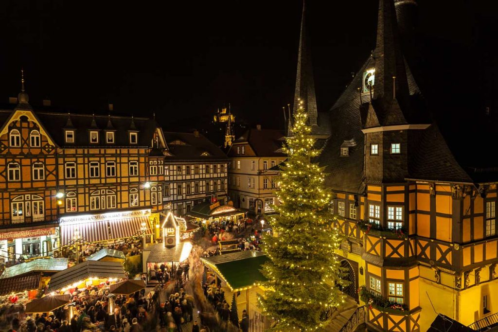 Weihnachtsmarkt Wernigerode - schöne Weihnachtsmärkte