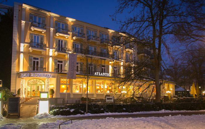Atlantic Park Hotel, Baden-Baden am Abend