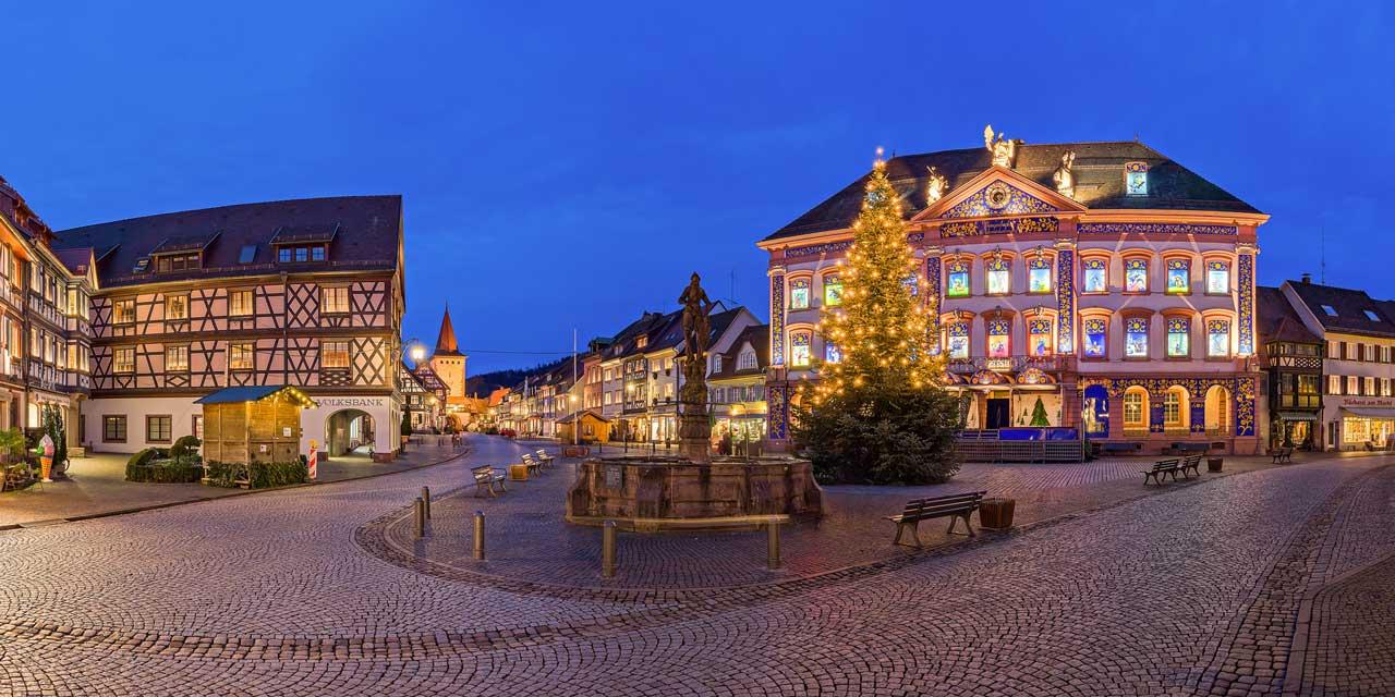 Adventskalender in Gengenbach - besondere Weihnachtsmärkte