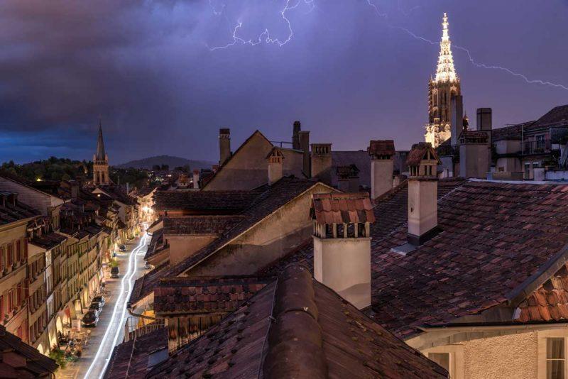 Gewitter über Bern