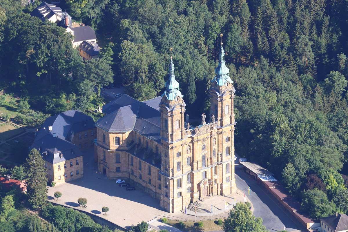 Basilika Vierzehnheiligen - Frankenweg