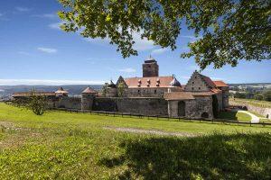 Kronach mit Festung Rosenberg - Frankenweg