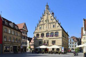 Rathaus Weißenburg - Frankenweg