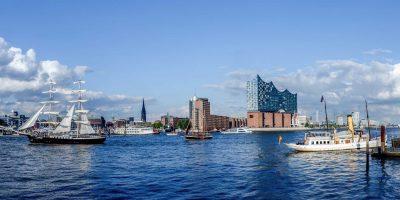 Hamburg Hafenpanorama