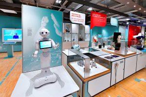 Ausstellungsbereich Mensch, Roboter! © Jan Braun/Heinz Nixdorf MuseumsForum