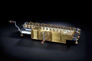 Leibniz-Rechenmaschine © Jan Braun/Heinz Nixdorf MuseumsForum
