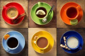 Kaffee, Tee, Kakao