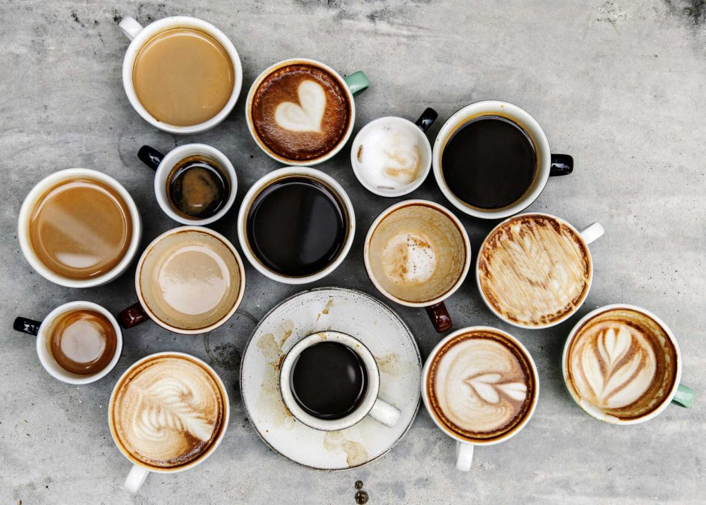 Kaffee und Cappuccino