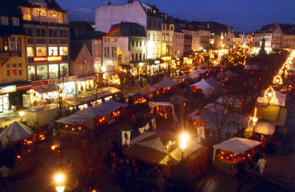 Mittelalterlicher Markt Siegburg - besondere Weihnachtsmärkte