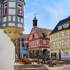 Marktplatz Waiblingen - Remstal-Route
