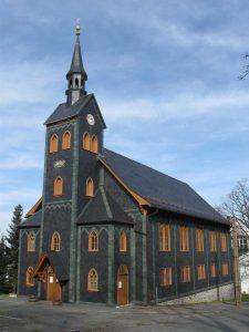 Holzkirche in Neuhaus am Rennweg - Rennsteig