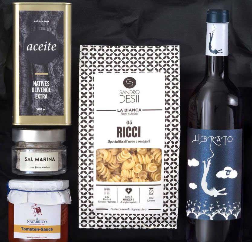 Schlemmerkiste Pasta & Vino