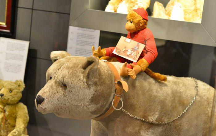 Ausstellung im Steiff Museum