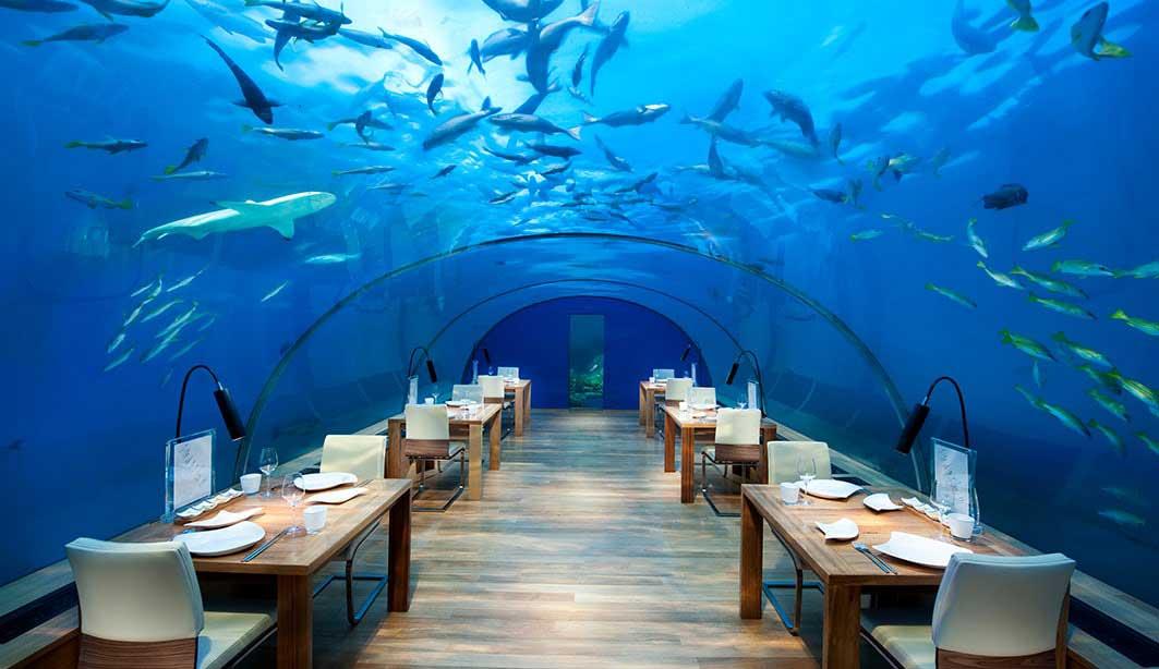 Restaurant - Unterwasserhotels