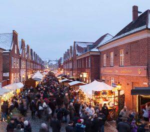 Sinterklaas-Fest im Holländischen Viertel in Potsdam