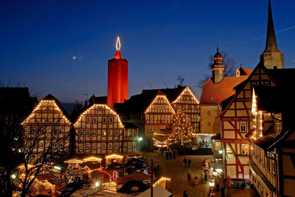 Weihnachtsmarkt Schlitz - besondere Weihnachtsmärkte