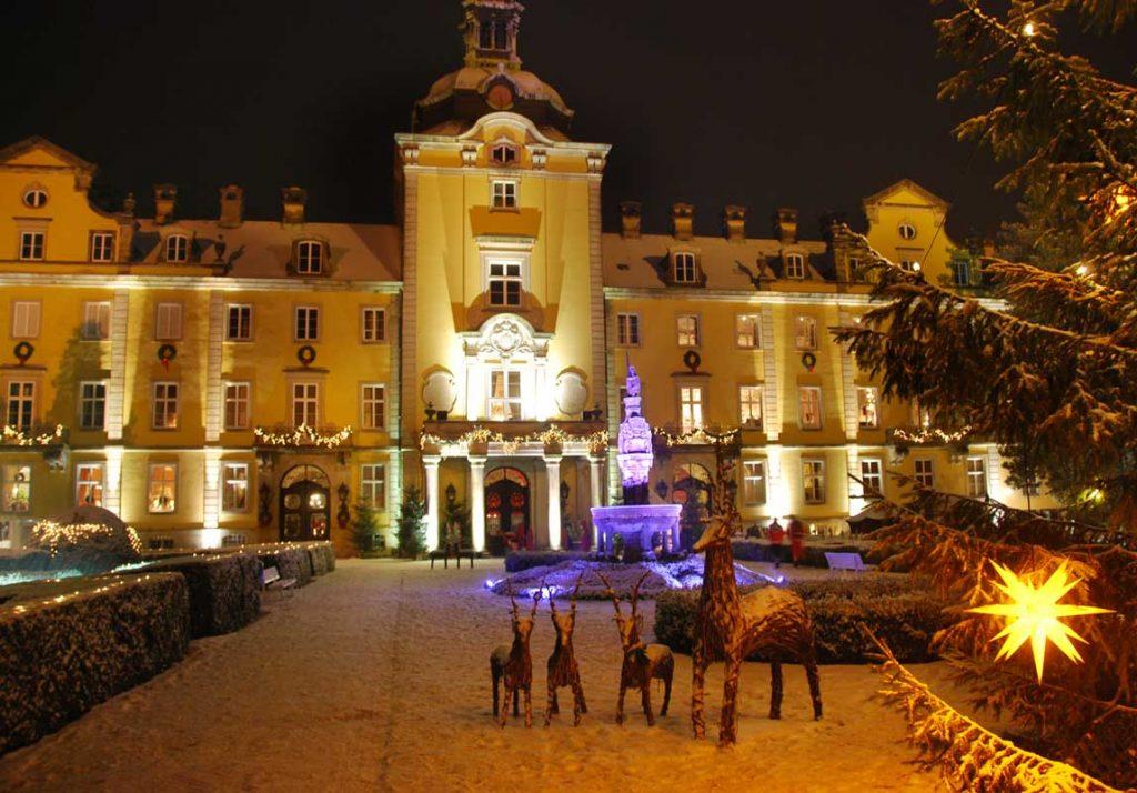Weihnachtszauber auf Schloss Bückeburg - romantische Weihnachtsmärkte