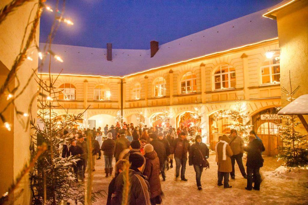 Weihnachtsmarkt auf Schloss Guteneck - romantische Weihnachtsmärkte