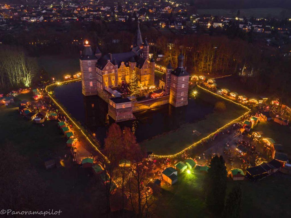 Weihnachtsmarkt Schloss Merode - romantische Weihnachtsmärkte