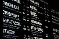 Speisekarte in Zimmermanns Burger Köln