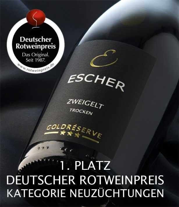Weinpräsent vom Weingut Escher
