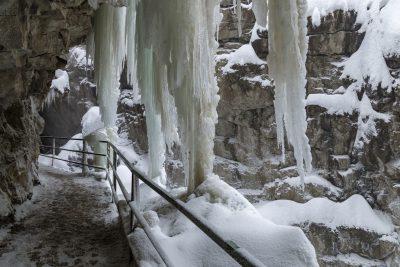 breitachklamm winter wanderweg