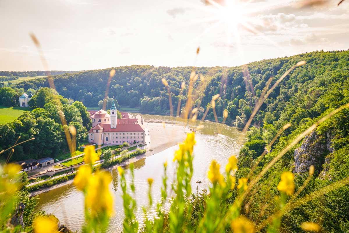 Kloster Weltenburg - Altmühltal-Panoramaweg