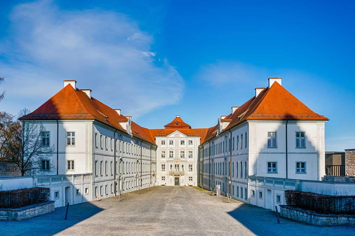 Schloss HIrschberg bei Beilngries - Altmühltal-Panoramaweg