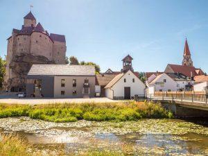 Burg Falkenberg - Goldsteig
