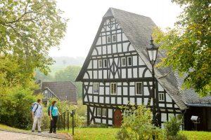 In Mehren am WesterwaldSteig - Westerwald-Steig