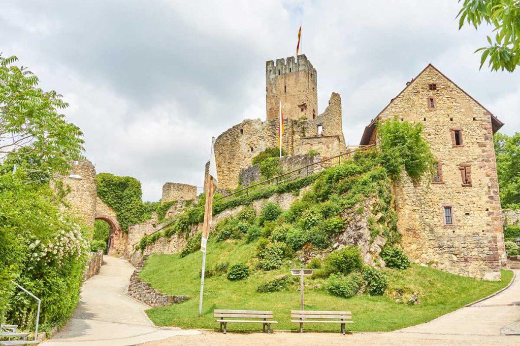 Burg Rötteln - Westweg