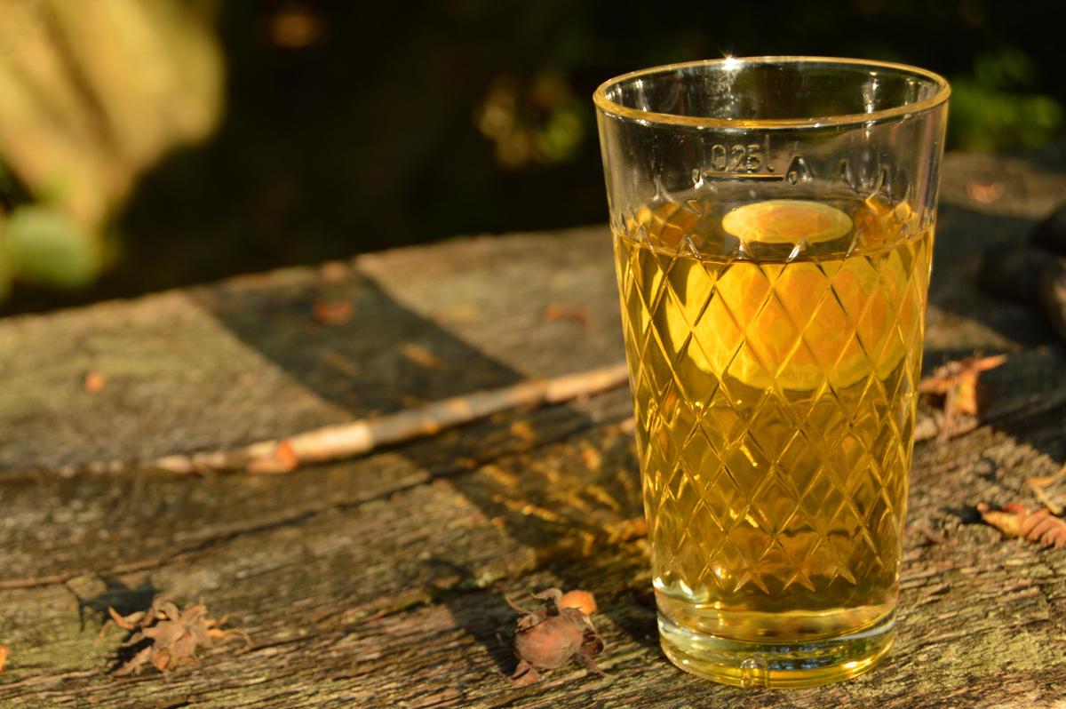 apfelwein typisches glas