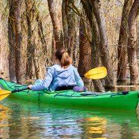 Kanu Flußwandern