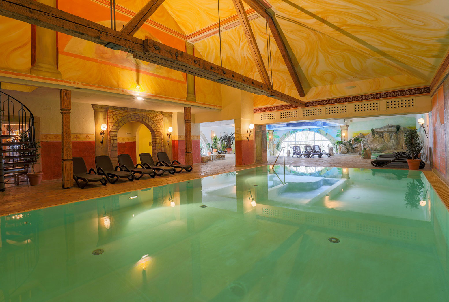 Hotel Reiterhof Bellevue Spa und Resort_Poollandschaft