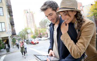 Gemeinsam eine Stadt erkunden - Romantischer Kurztrip