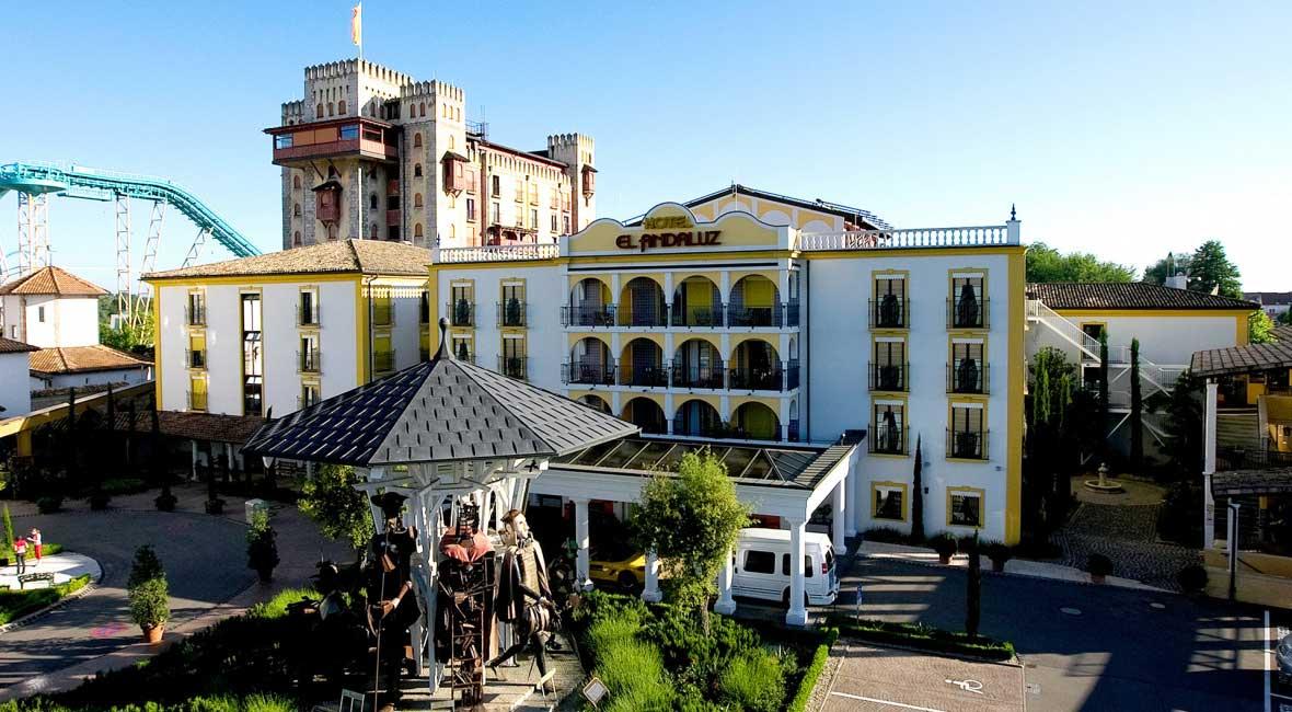 Hotel El Andaluz im Europa-Park Rust - Themehotels zum Staunen