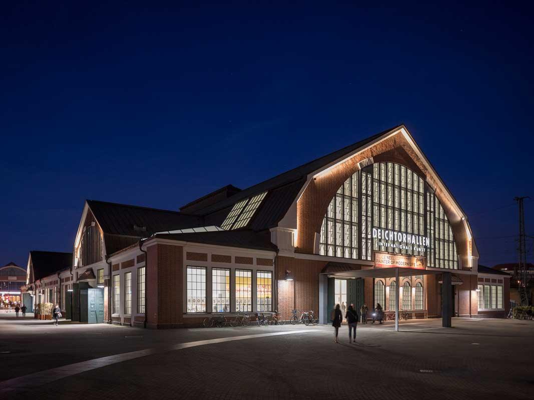 Hamburg HafenCity Deichtorhallen