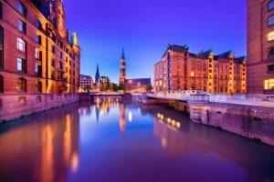 Hamburg HafenCity Speicherstadt