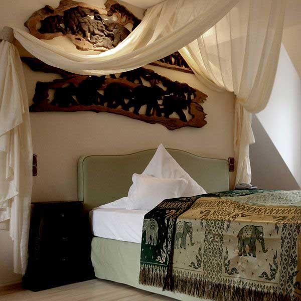 """Zimmer """"Bali"""" im Hip-Hotel Heidelberg - Themenhotels zum Staunen"""
