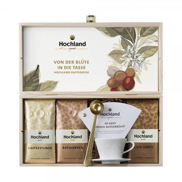 Hochland Kaffee Geschenkbox